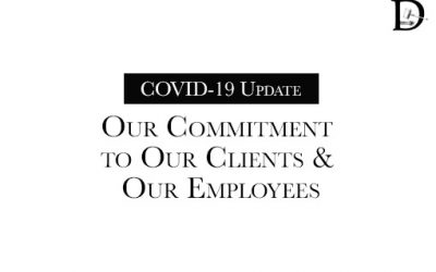 COVID-19 Update: Our Commitment to Clients and Our Employees